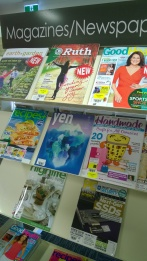 A range of Magazine titles