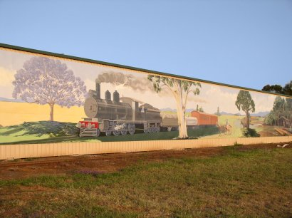 Mural - lighter sky